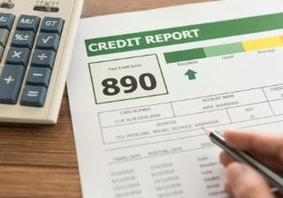 Credit score report application paper