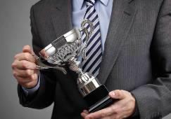 trophy awards winner prize