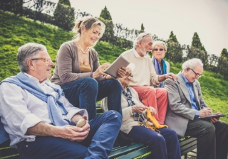old people pension retirement