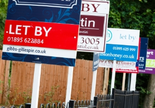 BTL house signs buy to let