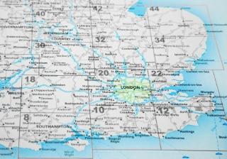 uk map london england