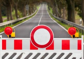 barrier warn time delay
