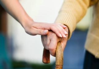 carer care elderly pensioner old