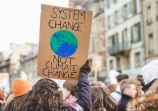 climate change net zero campaigner