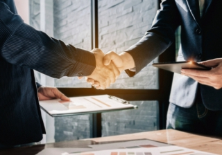deal agreement business hand handshake acquire