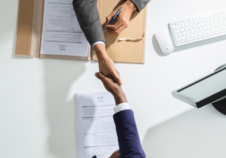 deal agreement business hand handshake acquire approve buy mortgage