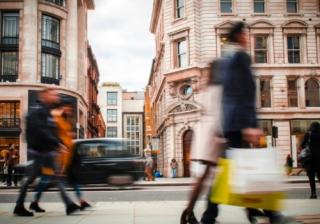 economy retail people street