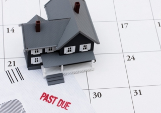 house mortgage late payment due repossession arrears