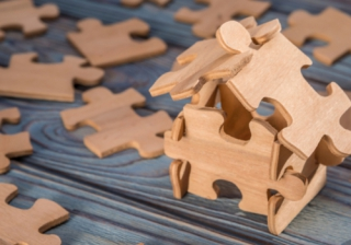 house puzzle piece pay