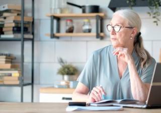 Pensioner finance