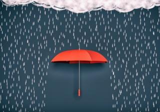 protection insurance cover umbrella rainy day