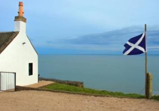 Scotland Scottish house flag
