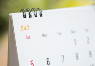 calendar july month
