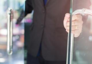 business new open advice firm adviser door
