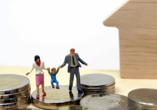 Family money home house first time buyer coin