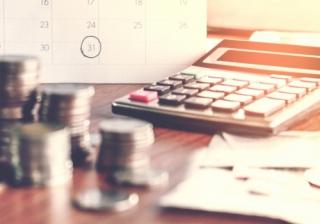 money calendar loan lend mortgage calculator