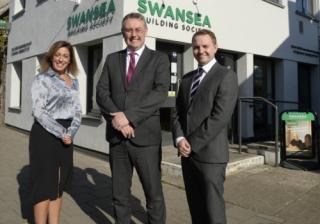 Swansea Laura Cox, Richard Miles and Lloyd Williams