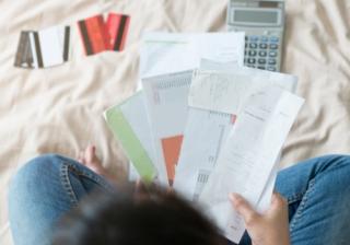 young person debt borrow money credit cards