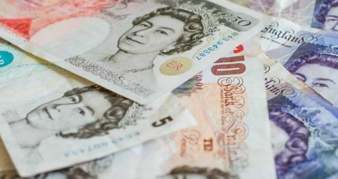 cash banknotes money