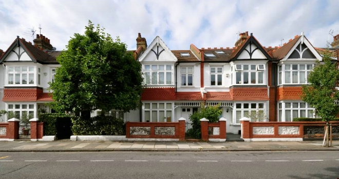 semi detached houses residential