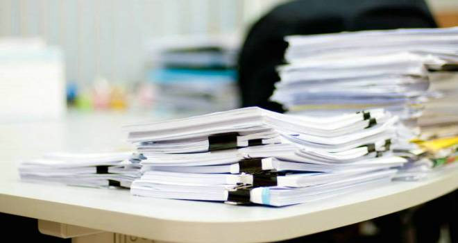 paperwork business office applications