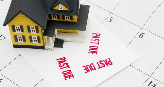 house sale buyer mortgage arrears