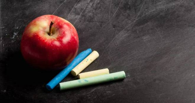 apple chalkboard blackboard learning education
