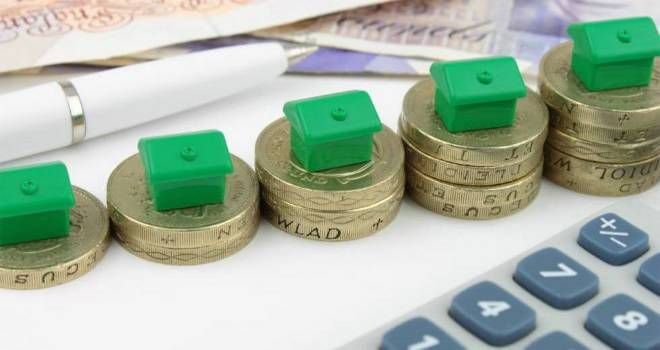 pound money house mortgage growth
