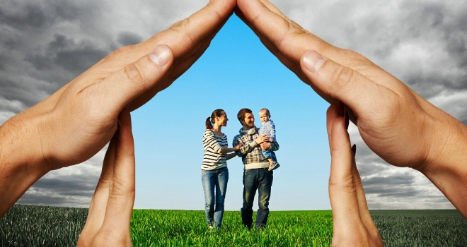 protection cover insurance family house home