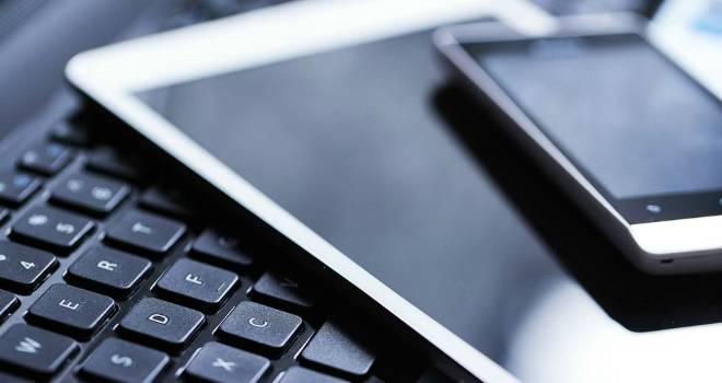 technology ipad laptop