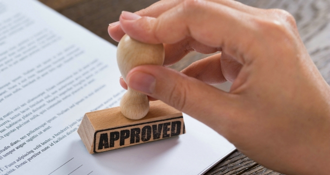 approved approval business form paperwork