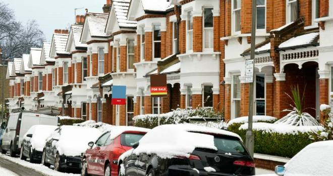 snowy houses for sale