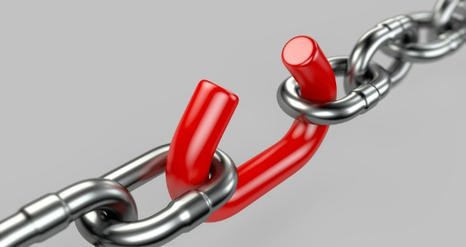 Weak link unprotected protection warn