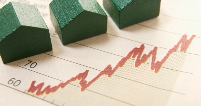 House prices see 1.3% monthly surge