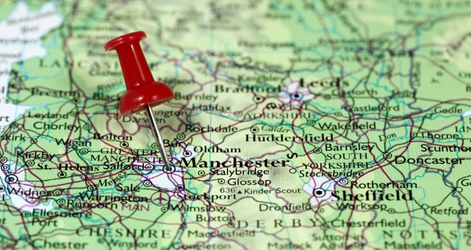 Manchester Tops City House Price List As London Prices Fall - London map manchester
