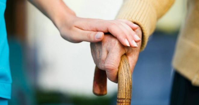 carer care elderly pensioner old