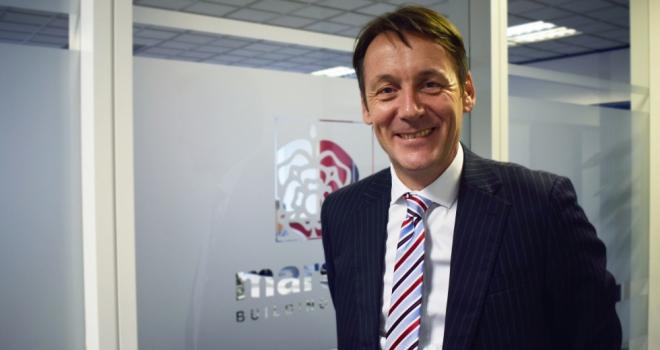 Rob Pheasey, Chief Executive at Marsden Building Society