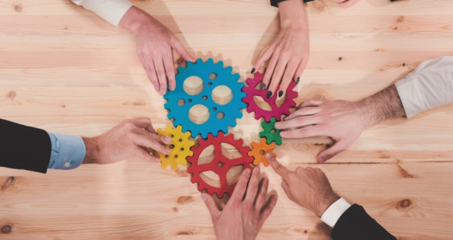 add join cogs gears working together