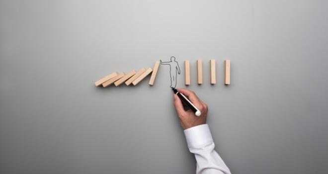 adviser client vulnerable dominoes fall