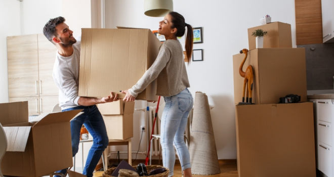 couple children move house first buyer FTB