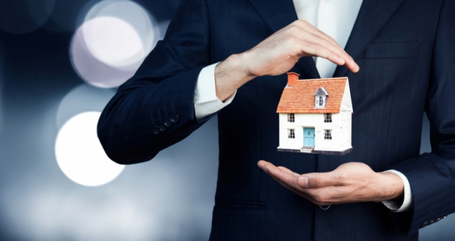 house price broker adviser hands