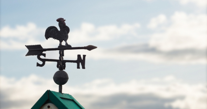 weather vane change opinion