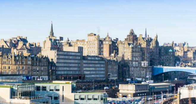 Scotland Edinburgh Scottish houses