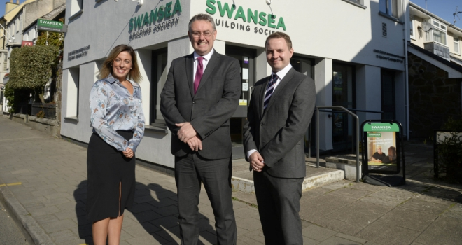 Swansea Laura Cox, Richard Miles and Lloyd Williams